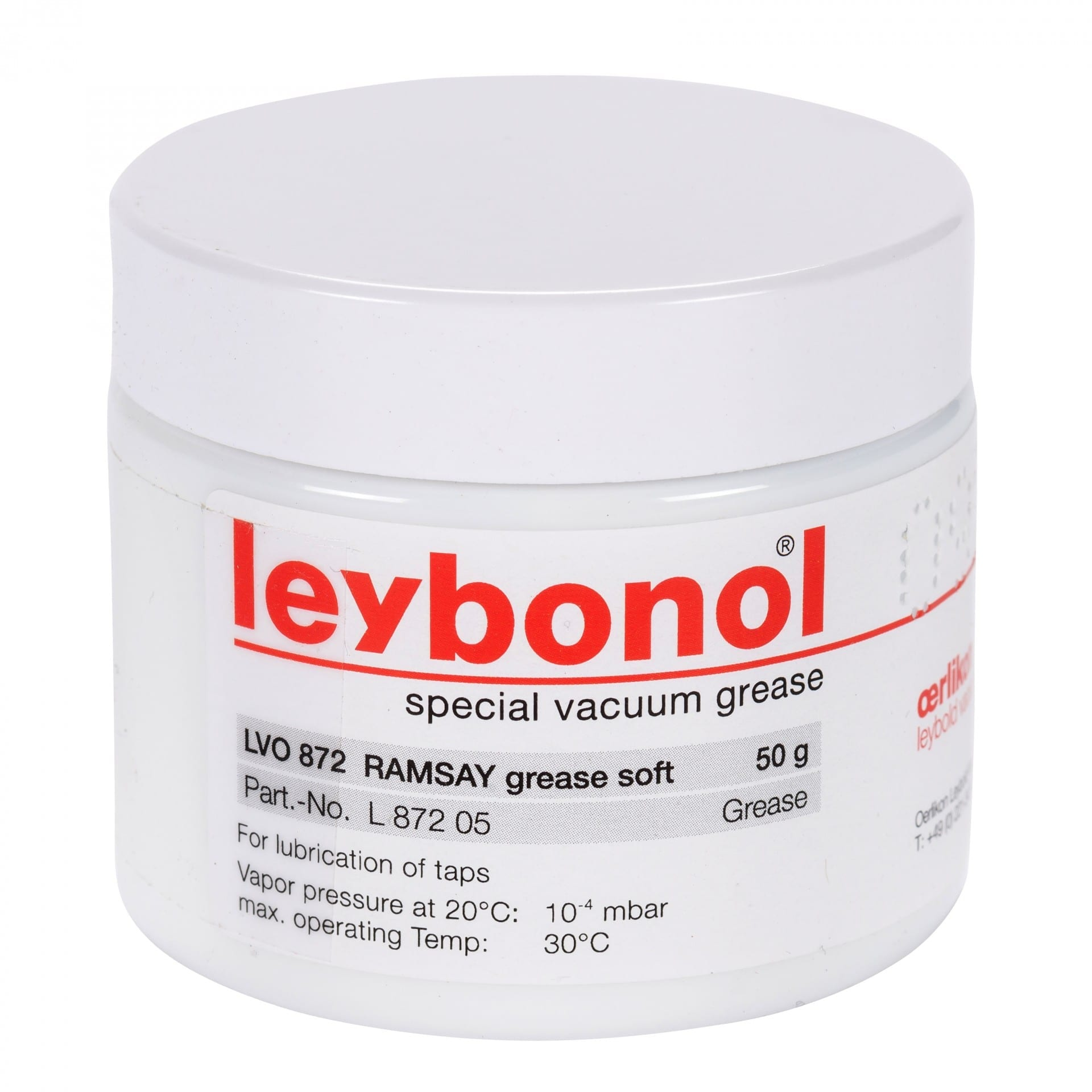 莱宝LEYBONOL LVO 872 润滑脂